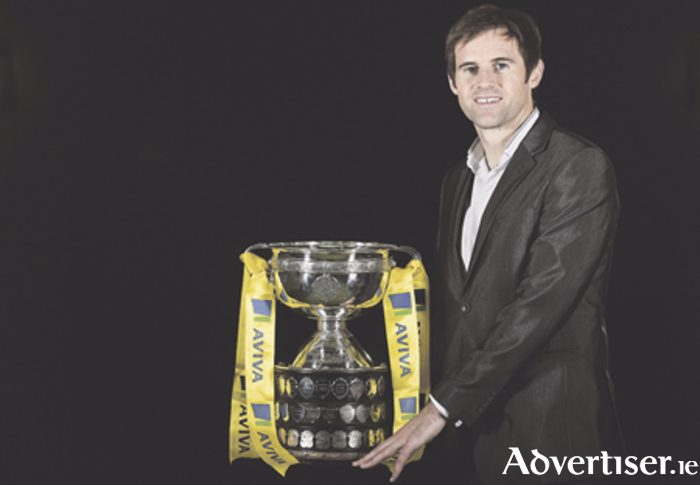 Pictured at the launch of Aviva's sponsorship of the FAI Junior Cup for the 2016/2017 season is former Republic of Ireland international Kevin Kilbane. Photo: Brendan Moran/Sportsfile