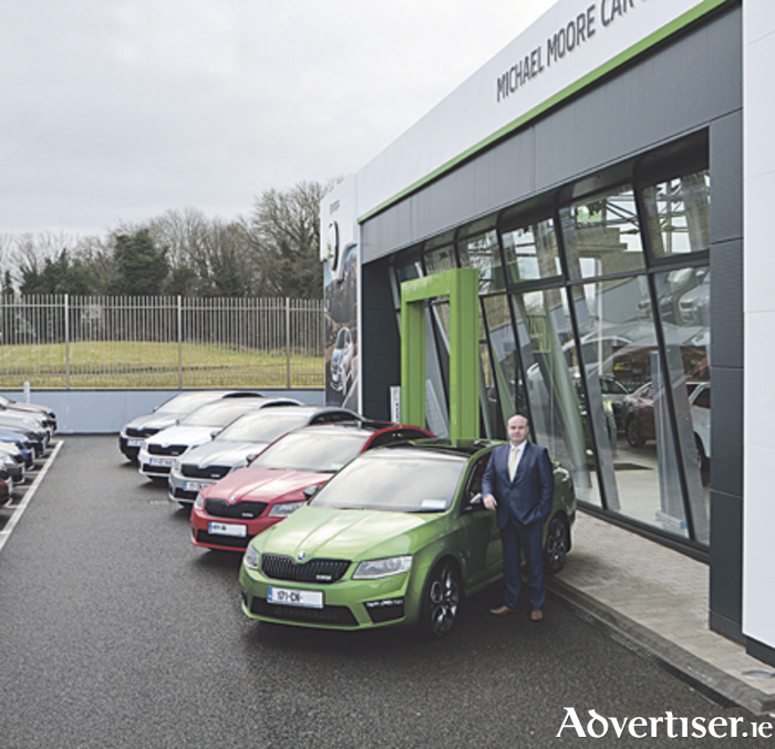 Keith McArdle, sales manager at Michael Moore Skoda, Ireland's leading Skoda Octavia RS Specialists