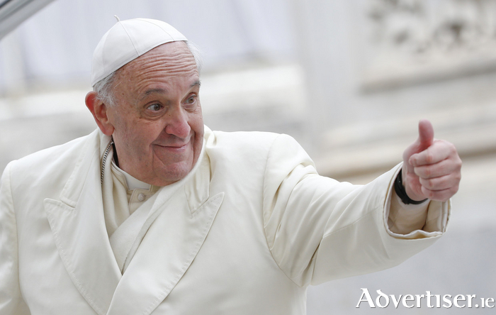 Mary Lee's potery collection gets a thumbs up from Pope Francis.