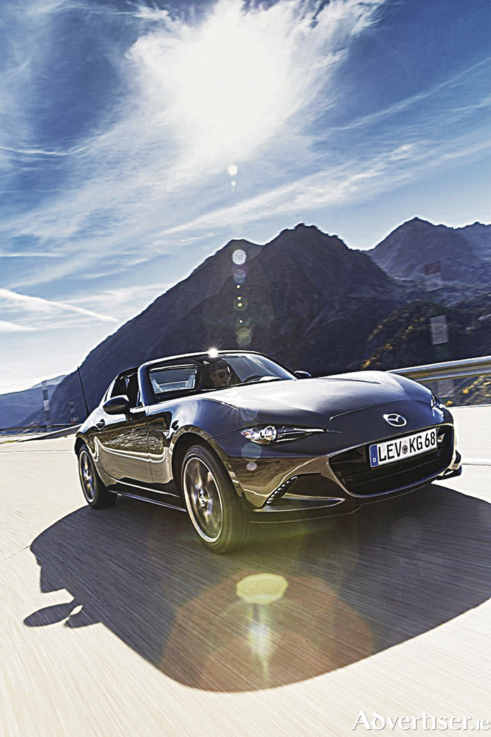 The long awaited new Mazda MX-5 RF.