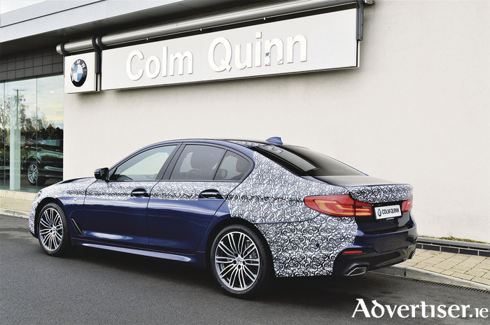 Setting new standards: The new BMW 5 Series to be launched at Colm Quinn in Galway and Athlone.