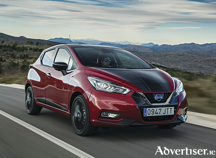The new Nissan Micra.