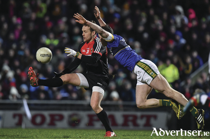 Handy Andy: Andy Moran had a brilliant game for Mayo. Photo: Sportsfile.