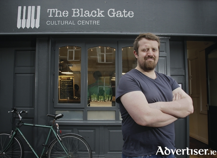 Peadar King co-owner of The Black Gate cultural Centre, Francis Street. Photo:- Mike Shaughnessy