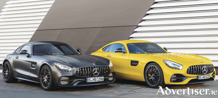 AMG GT C Roadster editions will premiere at the Geneva Motor Show to mark the fiftieth anniversary of Mercedes-AMG partnership.