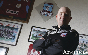 Galway United manager Shane Keegan, encouraged by pre-season, now hopes it will bring rewards with the new league season set to start. Photo:-Mike Shaughnessy