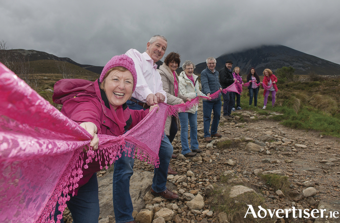 A novel fundraiser for Mayo Cancer Support will see Croagh Patrick turn pink on Saturday, April 8.