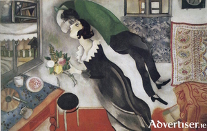 Detail from a painting by Marc Chagall.