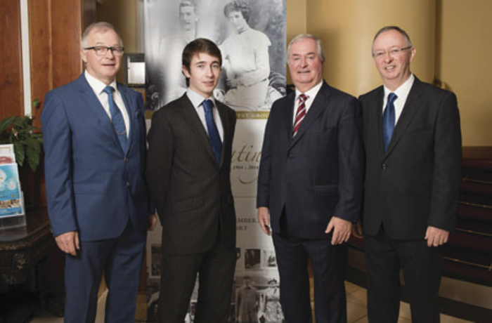 Owen Hughes, Henry Hughes, Cathal Hughes, and Harry Hughes from Portwest