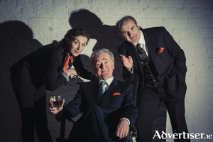 Tara Breathnach, Bryan Murray, and Michael Bates in Dave At Large.