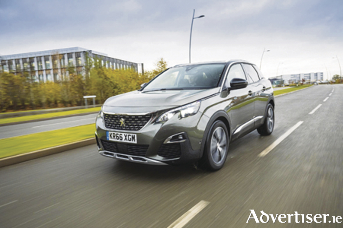 European Car of the Year The new Peugeot 3008 Allure.