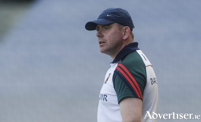 Looking for the win: Mayo manager JP Coen will be looking for his side to put in a much better performance this weekend. Photo: Sportsfile.