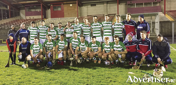 All Ireland junior hurling interfirm winners Supermac's of Galway:  Back l-r, Padraig Daly, Daniel Lally, David Concannon, Paul Kennedy, Dara Cooney, Clement Earls, Keith Hardiman, Evan Curley, Tomas Hoban, Oisin Coyle, Fintan Burke, Daniel McManus, Conor Quinlan.  Front, Oisin Quinlan, Padraig Earls, Conor Gardiner, Cathal Keane, Eanna Ryan, John McDonagh, Iomar Creaven, Cathal Kelly, Dean Earls, Brian Concannon, Conor Daly, David Skehill, Andrew Daly.