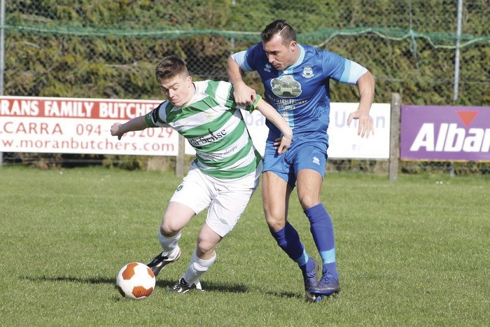 Out in front: Manulla caused a bit of a surprise by beating Castlebar Celtic last weekend. Photo: Castlebar Celtic Facebook