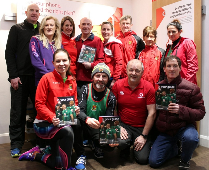 The launch of Mayo AC's 2017 Club League and eighth Annual Mayo AC Vodafone C&C Cellular 5k Series took place recently. Brendan Chambers from sponsor C&C Cellular Vodafone joined some club members for the launch in the Castlebar shop. The 2017 Club League has a number of events taking place between now and November and the 5k Series will take  place as usual on successive Tuesday evenings in May/June – details on www.mayoac.com. Back row: Seamus Devaney, Angela McVann, Laura Heneghan, Brendan Murphy, Ann McDonnell, PJ Hall, Angela O'Connor, Karen Devaney. Front row: Trisha Carty, John Geraghty, Brendan Chambers, Ambrose Gaughan