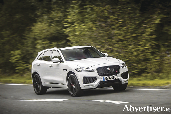 The Jaguar F-Pace is a finalist for both the 2017 World Car of the Year and 2017 World Car Design of the Year.