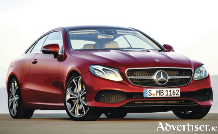 The new Mercedes E-Class coupe.