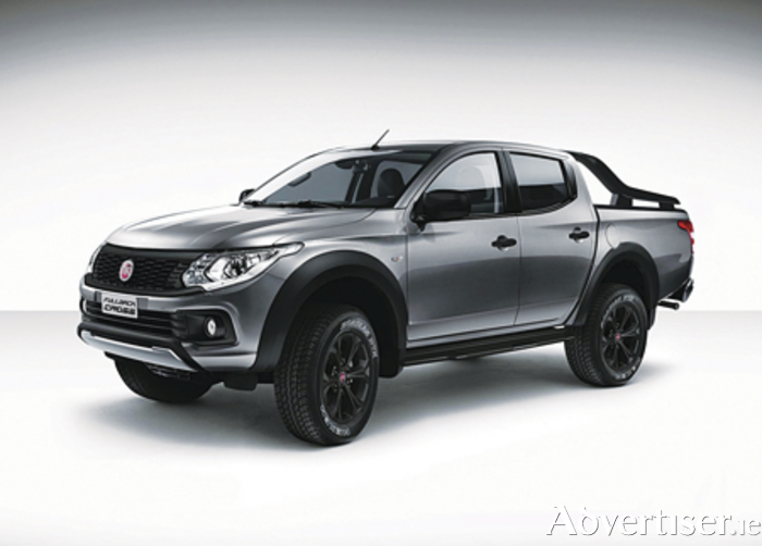 The new Fiat Fullback Cross pick-up.