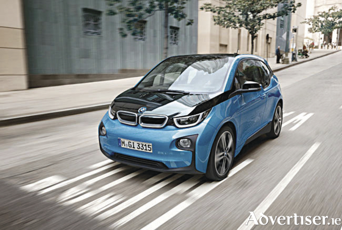 The new BMW i3 - named world's best urban car.