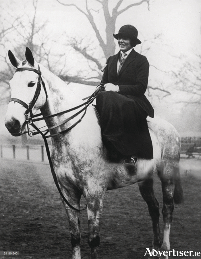 Lady Christobel Ampthill, always rode side-saddle even into her eighties.