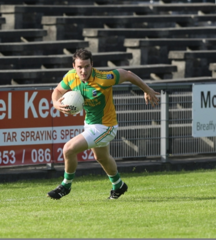 Ardnaree's Eoin McCormack will be hoping his side get off to a winning start this weekend.