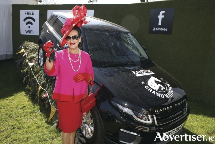 Faith Almond who won the Style Award at Aintree Ladies' Day last month.
