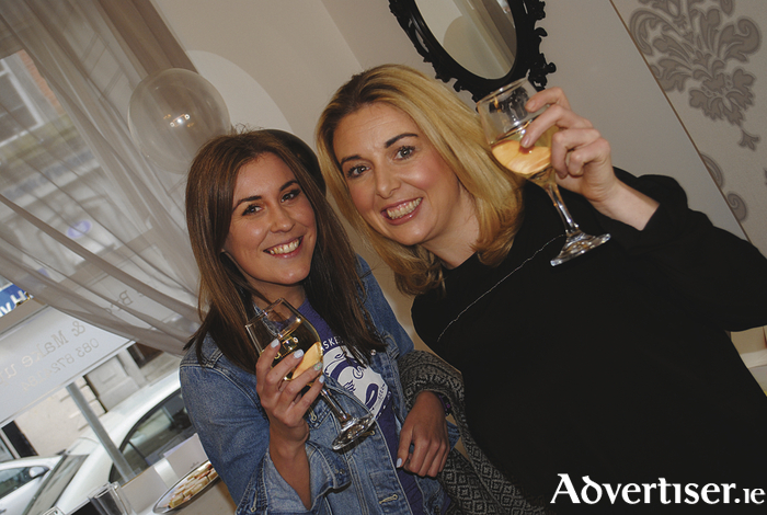 Happy faces at the opening of the Brow and Make Up Studio in Ballina.