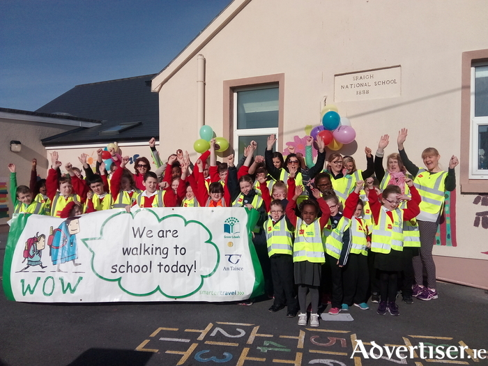 Shraigh National School celebrates WOW day.