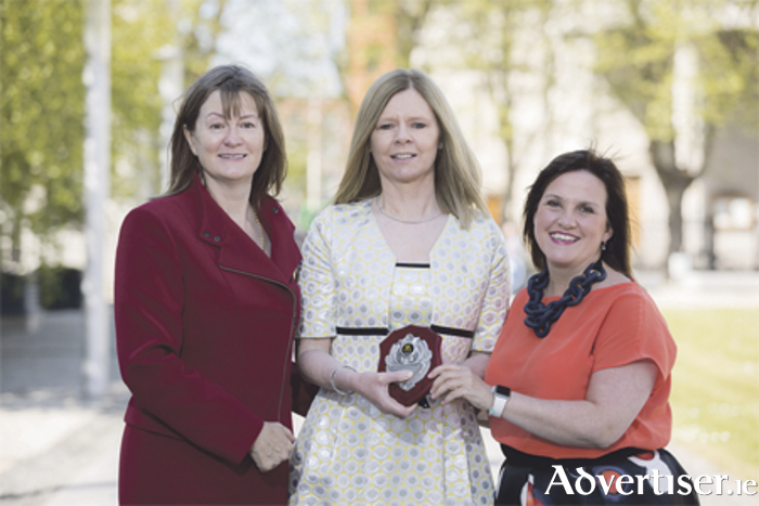 Eimear Sinnott, managing director of Careers Portal, with Linda Haran, Moate Business School, and Alison Hodgson, HR director at McDonald's Restaurants of Ireland