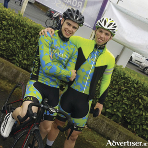Jason Prendergast, (Louisburgh) and David Brody (Castlebar) from Team Itap, Jason will be keeping us up to date from inside the An Post Rás all week in his diary.