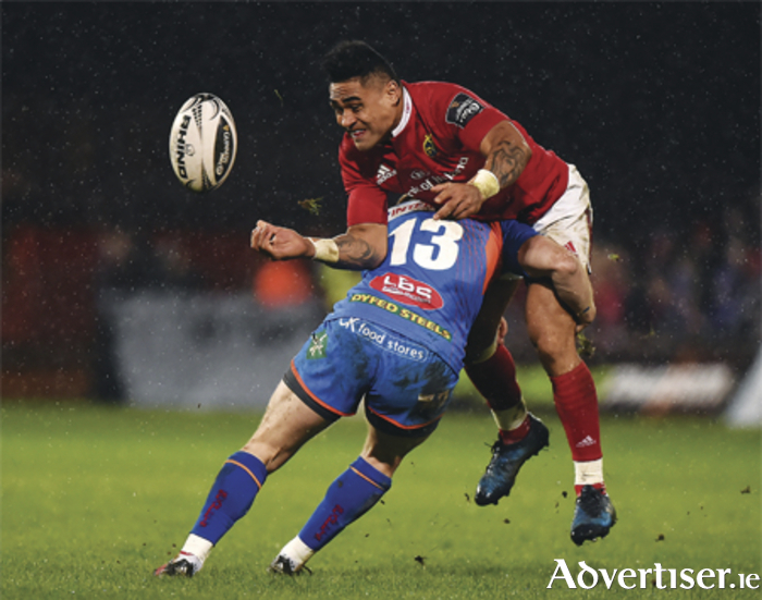 Catch Munster versus Scarlets this Saturday at The Snug
