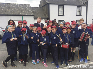 Congratulations to the school band of Scoil Bhríde, Shantalla, who took home first place in the 'Marching Band Competition' in the Fleadh Cheoil Co na Gaillimhe held in Portumna. They are now through to the Connacht Fleadh in July.