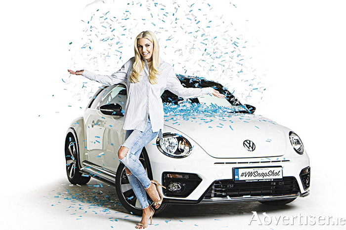 Brand ambassador Rosanna Davison launches the VW snapshot competititon for budding photographers.
