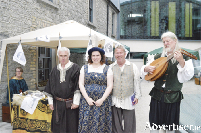 Staff and members of The Society of Creative Anachronism enjoying the fayre last year