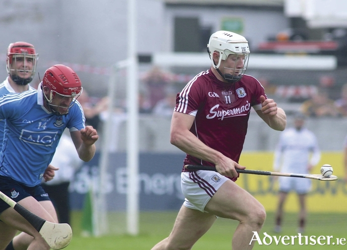 Galway's Joe Canning in action at O'Connor Park is expected to be in club action on Saturday.  Photo:-Mike Shaughnessy