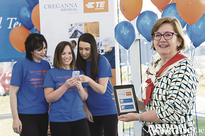 Pictured at the launch of the Creganna Careers Recruitment App are:  Bernadette Kiely, Senior Director, Human Resources, TE Medical and the Talent Acquisition Team (L to R): Lorraine Mearns, Nicola Walsh and Deborah Counihan.