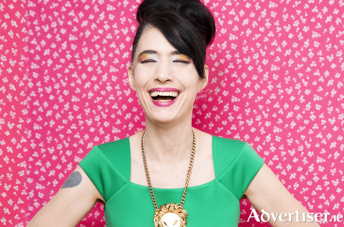 Kathleen Hanna. Photo:- Chloe Aftel