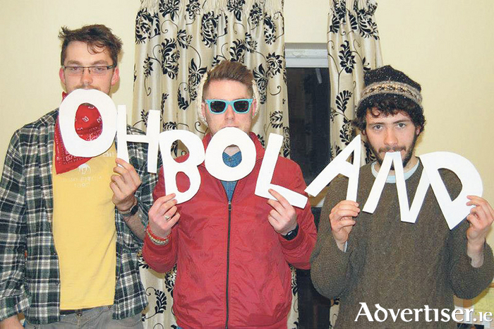 Tuam pop-punk band Oh Boland will be playing the Galway Fringe Festival.