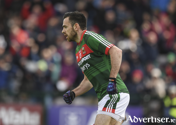 Kevin McLoughlin celebrates after scoring his goal last weekend. Photo: Sportsfile
