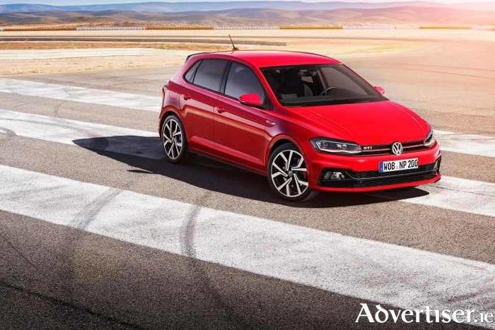 Volkswagen has unveiled the new Polo - pictured is the upmarket GTi 1 version