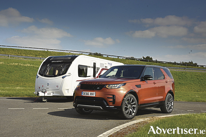 The Land Rover Discovery is the overall winner of the Tow Car Awards 2017.  It also won the 1900kg+ weight class.