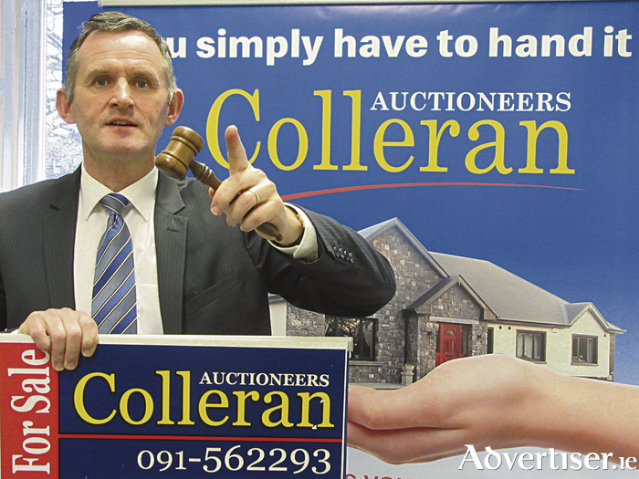 Don Colleran will bring the hammer down on a selection of properties on July 6.