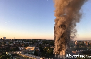The horrific fire that consumed much of Grenfell Tower in London. The official death toll is now in the seventies, but locals and residents say the actual figure of dead runs into the hundreds.