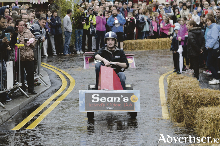 The Sean's Bar entry into the soapbox race in 2015