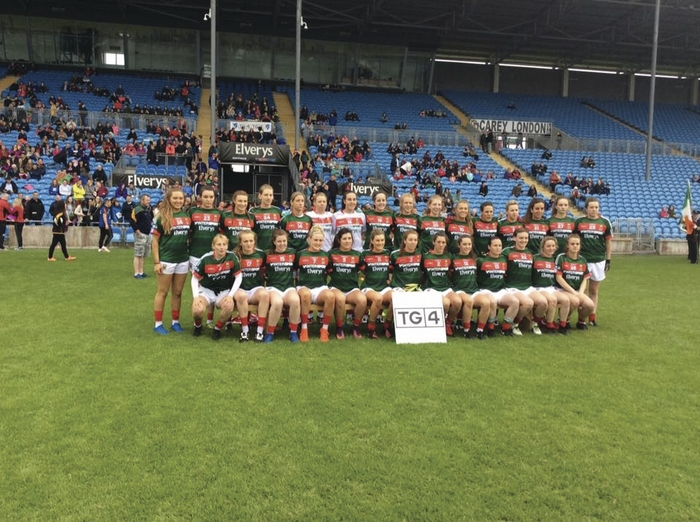 The Mayo Ladies team who lost the Connacht Final to Galway. Photo: Mayo LGFA