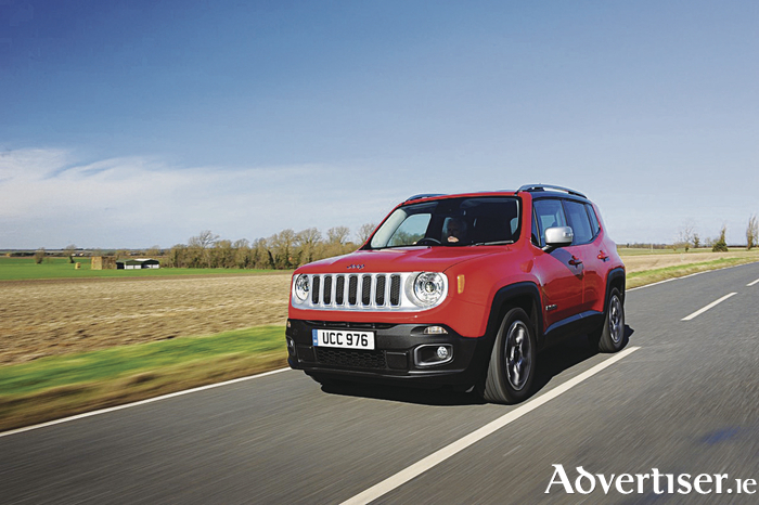 The Jeep Renegade.