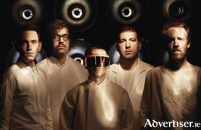 Hot Chip. Photo:- Steve Gullick