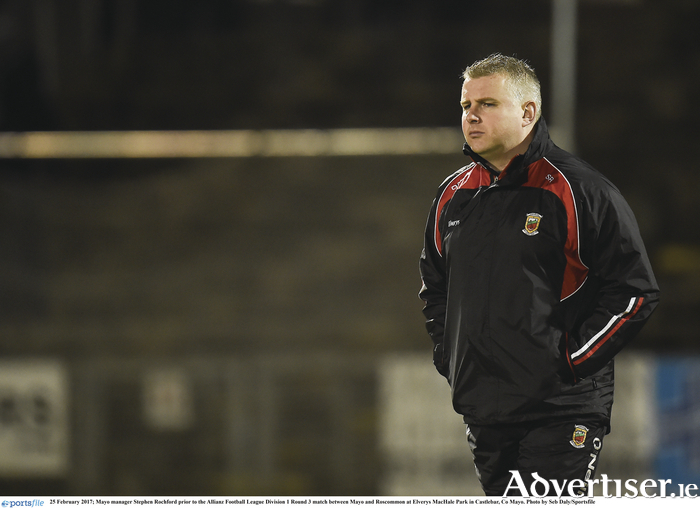 Back to where he wants to be: Stephen Rochford has guided Mayo back to the last eight in the country. Photo: Sportsfile.