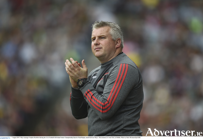 Ready for the next challenge: Stephen Rochford is ready for Mayo's next challenge. Photo: Sportsfile