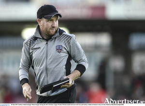 Galway United manager Shane Keegan was not pleased with certain refereeing decisions. by Matt Browne/Sportsfile.